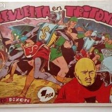 Tebeos: RED DIXON ORIGINAL 1ª SERIE Nº 65 - 1954 EDI. MARCO - MARTÍNEZ OSETE - HU. Lote 151020546