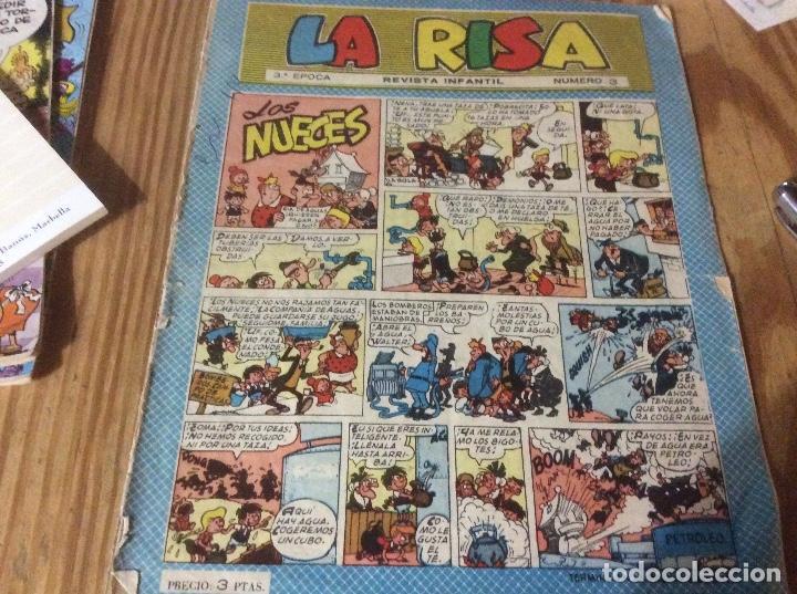 LA RISA TERCERA ÉPOCA Nº 3. EDICIONES MARCO 1965. RIZO. J. RIPOLL. E. BOIX. CASTILLO. FLEETWAY (Tebeos y Comics - Marco - La Risa)
