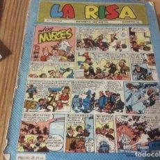 Tebeos: LA RISA TERCERA ÉPOCA Nº 3. EDICIONES MARCO 1965. RIZO. J. RIPOLL. E. BOIX. CASTILLO. FLEETWAY. Lote 151663754
