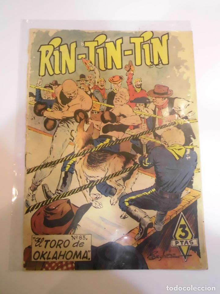 RIN-TIN-TIN NUMERO 83 - ED. MARCO - AÑOS 60 (Tebeos y Comics - Marco - Rin-Tin-Tin)