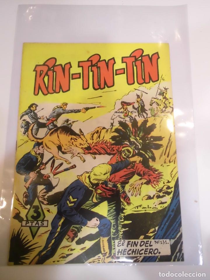 RIN-TIN-TIN NUMERO 131 - ED. MARCO - AÑOS 60 (Tebeos y Comics - Marco - Rin-Tin-Tin)