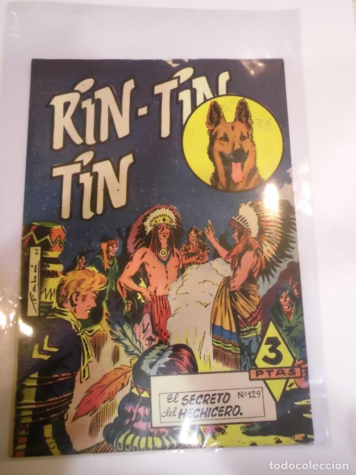 RIN-TIN-TIN NUMERO 129 - ED. MARCO - AÑOS 60 (Tebeos y Comics - Marco - Rin-Tin-Tin)
