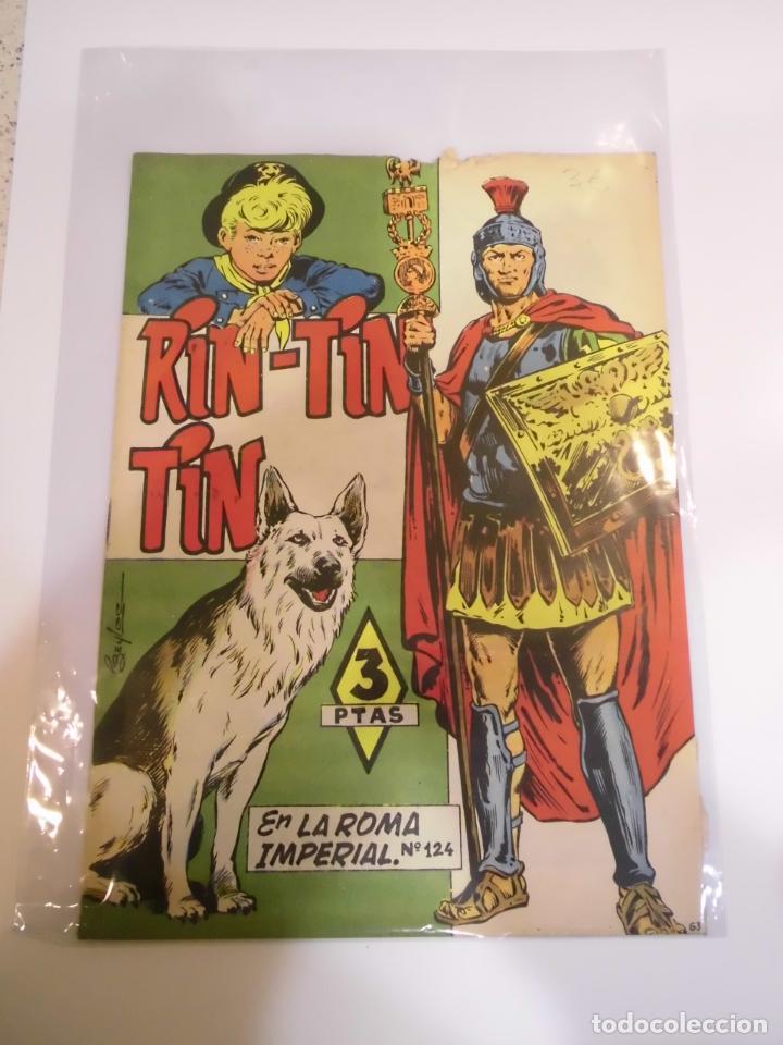 RIN-TIN-TIN NUMERO 124 - ED. MARCO - AÑOS 60 (Tebeos y Comics - Marco - Rin-Tin-Tin)
