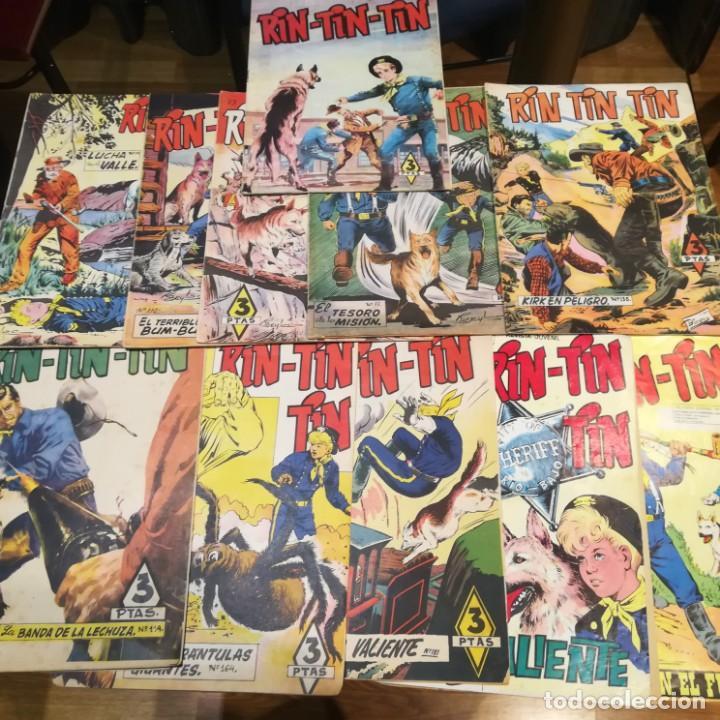 RIN-TIN-TIN-10 TEBEOS-Nº 33-73-77-79-110-114-164-181-236-254 DE 1958-BUEN ESTADO (Tebeos y Comics - Marco - Rin-Tin-Tin)