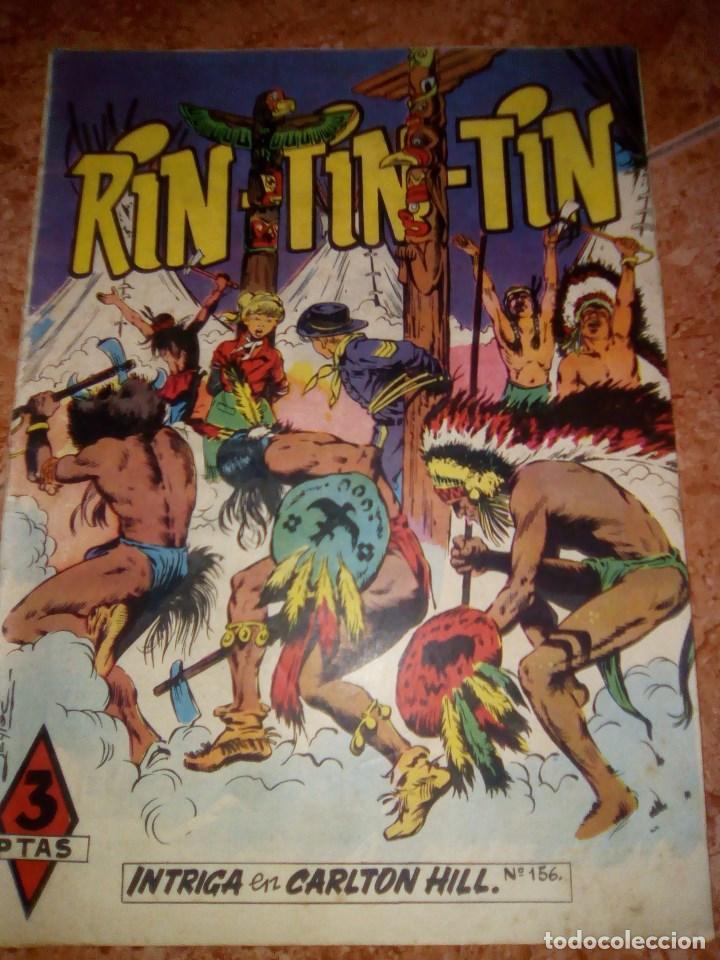 RIN TIN TIN.NUMERO 156.EDITORIAL MARCO (Tebeos y Comics - Marco - Rin-Tin-Tin)