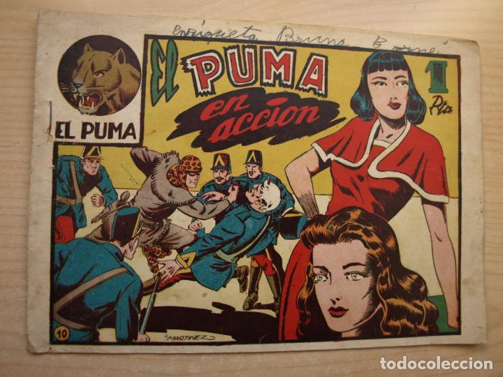 EL PUMA - 1ª SERIE - NÚMERO 10 - ORIGINAL - MARCO (Tebeos y Comics - Marco - Otros)