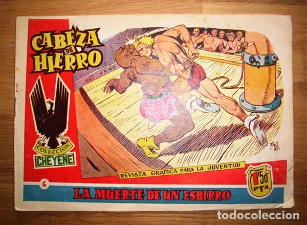 CABEZA DE HIERRO. Nº 6 : LA MUERTE DE UN ESBIRRO (COLECCIÓN CHEYENE) (Tebeos y Comics - Marco - Otros)