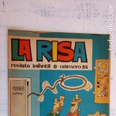 Tebeos: LA RISA ORIGINAL Nº 56 EDITORIAL MARCO 1965 CON 3 HISTORIAS POR F. IBAÑEZ. Lote 156559246