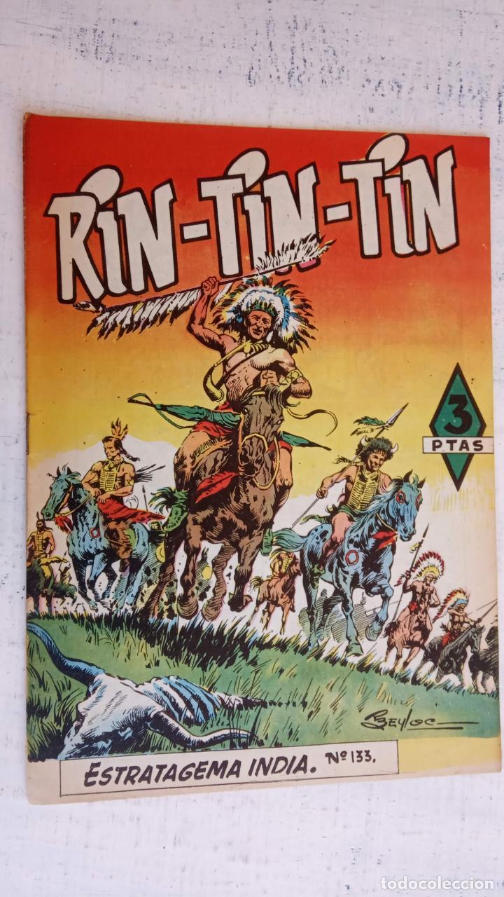 RIN TIN TIN Nº 133 EDITORIAL MARCO 1958 - BEYLOC, J.ROSELLÓ, CASTILLO, MARTÍNEZ OSETE ETC (Tebeos y Comics - Marco - Rin-Tin-Tin)