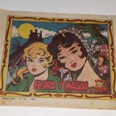 Tebeos: ANTIGUO COMIC COLECCION MARY LUZ Nº 43 - FLORA Y MAGDA - GRAFICAS MARCO AÑOS 40 / 50. Lote 158019378