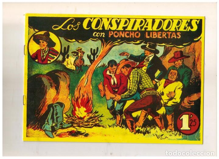 FACSIMIL: PONCHO LIBERTAS NUMERO 10: LOS CONSPIRADORES (Tebeos y Comics - Marco - Otros)