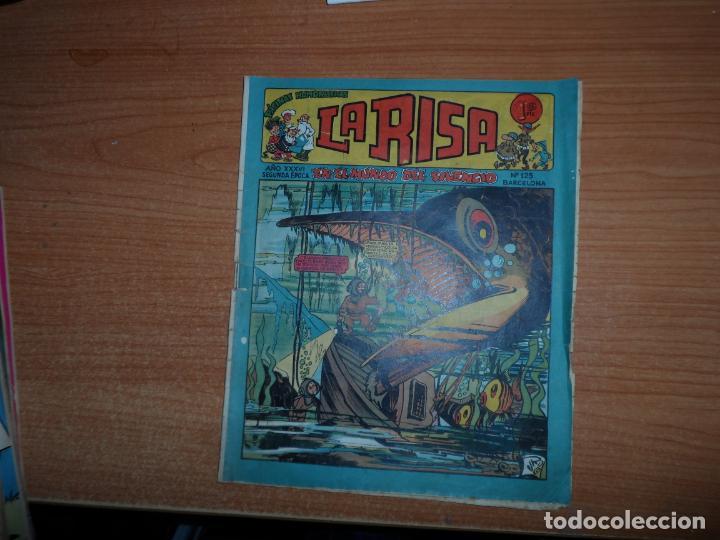 LA RISA Nº 125 2 ª SERIE EDITORIAL MARCO (Tebeos y Comics - Marco - La Risa)
