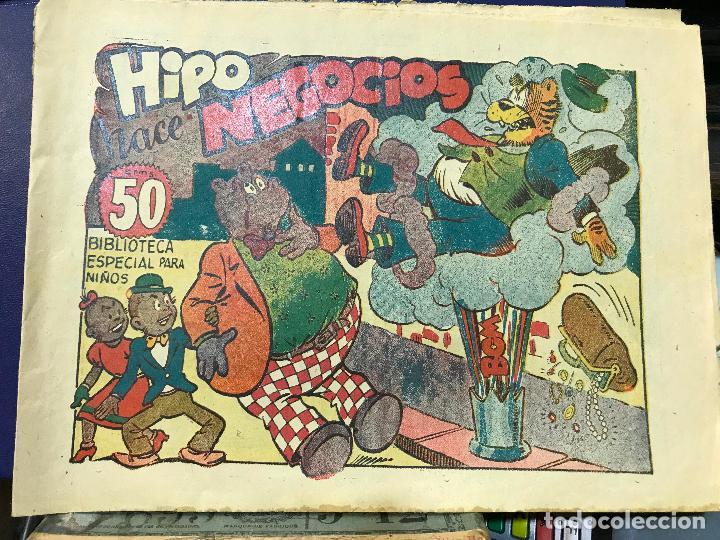 HIPO HACE NEGOCIOS - BIBLIOTECA ESPECIAL PARA NIÑOS - NUMERO RARO Y DIFICIL - MARCO (Tebeos y Comics - Marco - Hipo (Biblioteca especial))