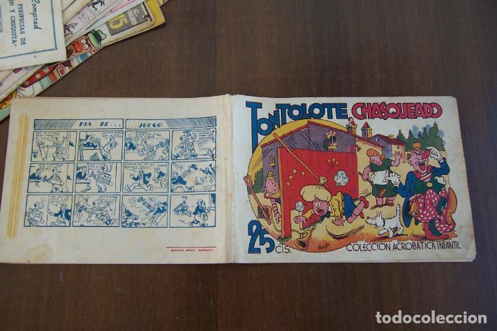 MARCO,-ACROBÁTICA INFANTIL Nº TONTOLOTE CHASQUEADO (Tebeos y Comics - Marco - Acrobática Infantil)