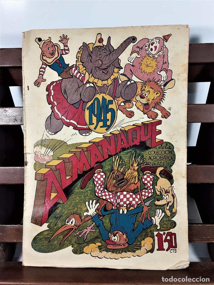 ALMANAQUE 1945. EDITORIAL MARCO. BARCELONA. (Tebeos y Comics - Marco - Acrobática Infantil)