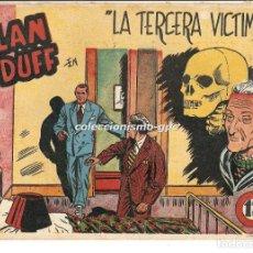 Tebeos: ALAN DUFF Nº 18 TEBEO ORIGINAL 1952 LA TERCERA VICTIMA GRÁFICAS MARCO OFERTA MIRA BUEN ESTADO !!. Lote 163074618