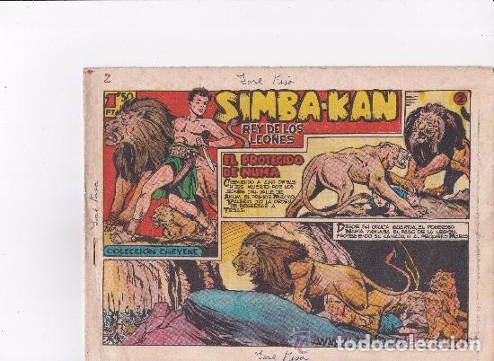 SIMBA KAN REY DE LEONES 1959--- 58 EJEMPLARES - ,FALTA EL Nº 1 Y EL 48 (Tebeos y Comics - Marco - Otros)