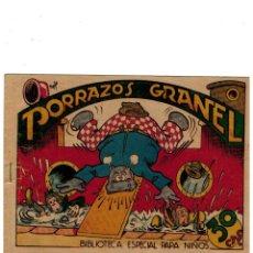 Tebeos: BIBLIOTECA ESPECIAL PARA NIÑOS -PORRAZOS A GRANEL- ORIGINAL,1942. . Lote 169832340