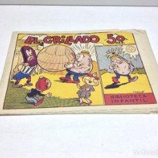 BDs: LA BIBLIOTECA INFANTIL-EL GRILLADO - EDITORIAL MARCO ORIGINAL. Lote 170016932