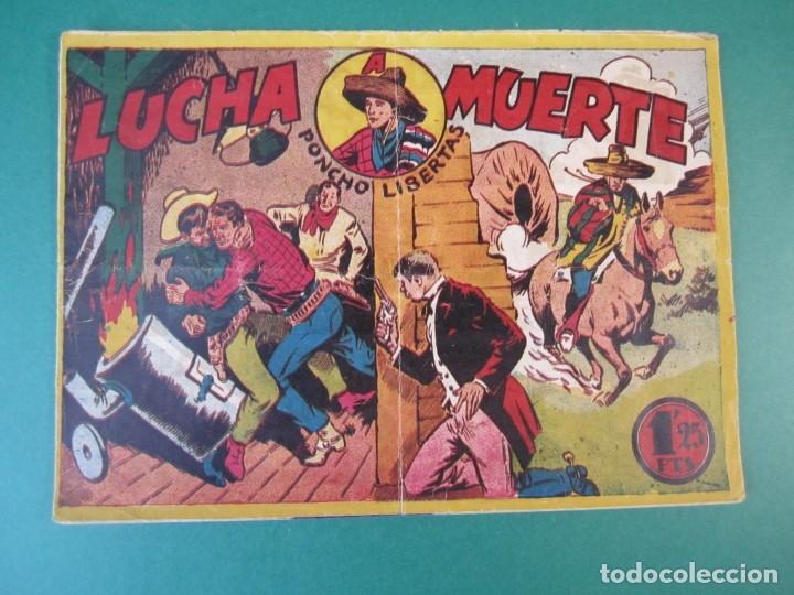 PONCHO LIBERTAS (1945, MARCO) 11 · 1945 · LUCHA A MUERTE (Tebeos y Comics - Marco - Otros)