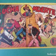 Tebeos: PONCHO LIBERTAS (1945, MARCO) 11 · 1945 · LUCHA A MUERTE. Lote 172657975