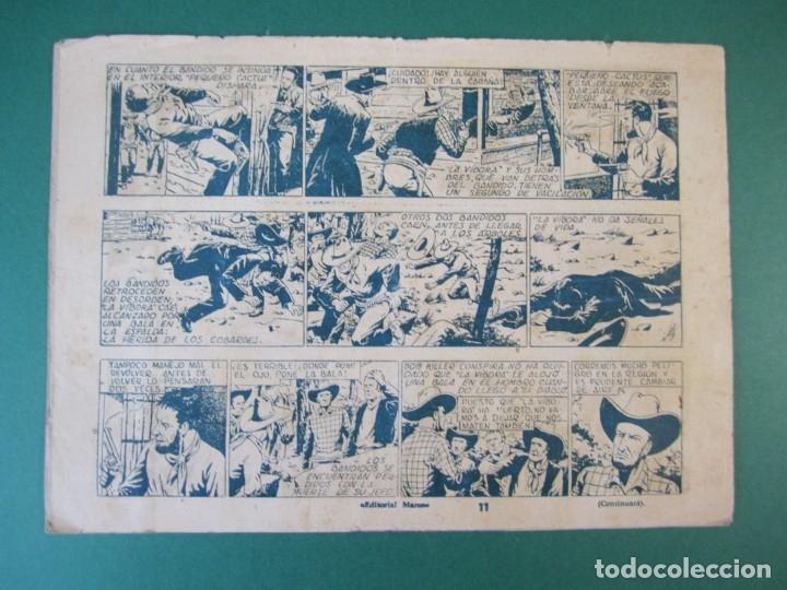 Tebeos: PONCHO LIBERTAS (1945, MARCO) 11 · 1945 · LUCHA A MUERTE - Foto 2 - 172657975