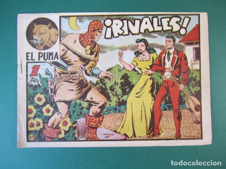 PUMA, EL (1952, MARCO) 47 · 1952 · RIVALES (Tebeos y Comics - Marco - Otros)
