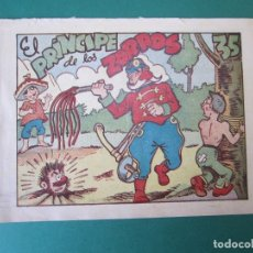 Tebeos: PINGO, TONGO Y PILONGO (1949, MARCO) Nº SIN CATALOGAR · 1949 · EL PRINCIPE DE LOS ZORROS. Lote 172734177