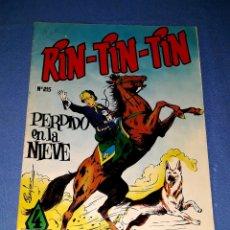 Tebeos: RIN TIN TIN Nº 215 ORIGINAL EDICIONES OLIVE Y HONTORIA MARCO VER FOTO Y DESCRIPCION. Lote 173139759