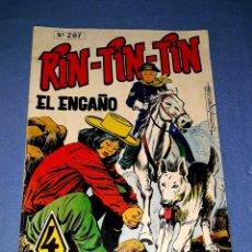 Tebeos: RIN TIN TIN Nº 207 ORIGINAL EDICIONES OLIVE Y HONTORIA MARCO VER FOTO Y DESCRIPCION. Lote 173139909