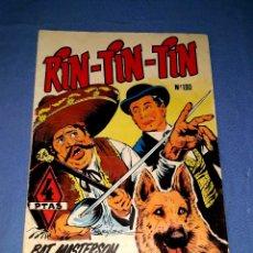 Tebeos: RIN TIN TIN Nº 190 ORIGINAL EDICIONES OLIVE Y HONTORIA MARCO VER FOTO Y DESCRIPCION. Lote 173140330