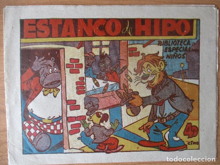 HIPO, BIBLIOTECA ESPECIAL PARA NIÑOS: ESTANCO DE HIPO, ORIGINAL. EDITORIAL MARCO. (Tebeos y Comics - Marco - Hipo (Biblioteca especial))