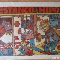 Tebeos: HIPO, BIBLIOTECA ESPECIAL PARA NIÑOS: ESTANCO DE HIPO, ORIGINAL. EDITORIAL MARCO.. Lote 171307952