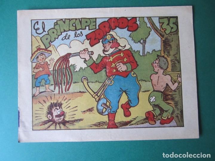PINGO, TONGO Y PILONGO (1949, MARCO) Nº SIN CATALOGAR · 1949 · EL PRINCIPE DE LOS ZORROS (Tebeos y Comics - Marco - Otros)