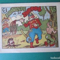 Tebeos: PINGO, TONGO Y PILONGO (1949, MARCO) Nº SIN CATALOGAR · 1949 · EL PRINCIPE DE LOS ZORROS. Lote 173236973