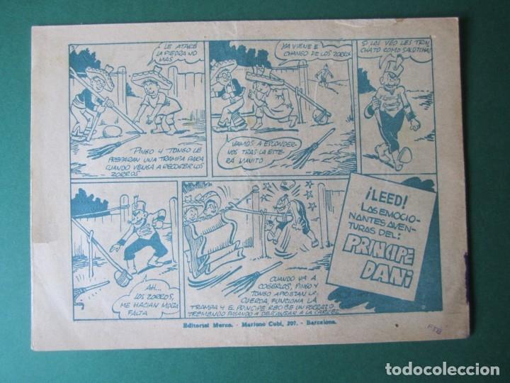 Tebeos: PINGO, TONGO Y PILONGO (1949, MARCO) Nº SIN CATALOGAR · 1949 · EL PRINCIPE DE LOS ZORROS - Foto 2 - 173236973
