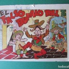 Tebeos: PINGO, TONGO Y PILONGO (1949, MARCO) Nº SIN CAT · 1949 · EL FALSO BUFALO BILL. Lote 173237904