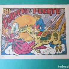 Tebeos: CUENTO DE HADAS (1945, MARCO) Nº SIN CATALOGAR · 30-III-1946 · ROBERTO EL FUERTE. Lote 173288057
