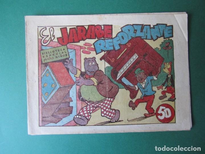 BIBLIOTECA ESPECIAL PARA NIÑOS (1942, MARCO) Nº SIN CATALOGA · EL JARABE REFORZANTE (Tebeos y Comics - Marco - Hipo (Biblioteca especial))