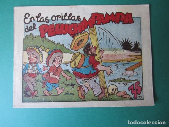 PINGO, TONGO Y PILONGO (1949, MARCO) Nº SIN CATALOGAR · EN LAS ORILLAS DEL PELUCIMPAMPA (Tebeos y Comics - Marco - Otros)