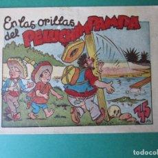 Tebeos: PINGO, TONGO Y PILONGO (1949, MARCO) Nº SIN CATALOGAR · EN LAS ORILLAS DEL PELUCIMPAMPA. Lote 173294730
