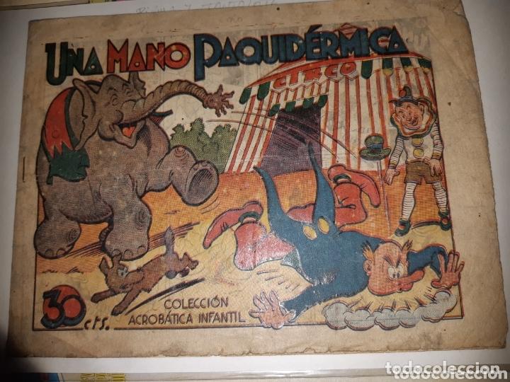 TEBEOS-CÓMICS CANDY - ACROBATICA INFANTIL - UNA MANO PAQUIDERMICA - PIRULO Y TONTOLOTE - *AA98 (Tebeos y Comics - Marco - Acrobática Infantil)