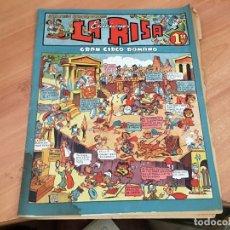 Livros de Banda Desenhada: LA RISA Nº 8 SEGUNDA EPOCA GRAN CIRCO ROMANO . INCLUYE DIORAMA (ORIGINAL MARCO) (COIB23). Lote 173600717