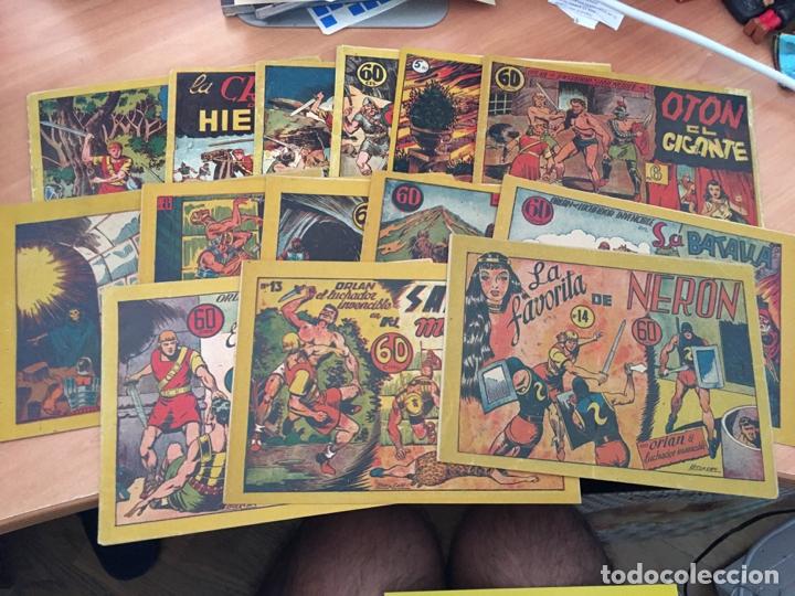 ORLAN LUCHADOR INVENCIBLE COLECCION COMPLETA 1 AL 14 + REGALO 15 Y 16 (ORIGINAL MARCO) (COIB23) (Tebeos y Comics - Marco - Otros)