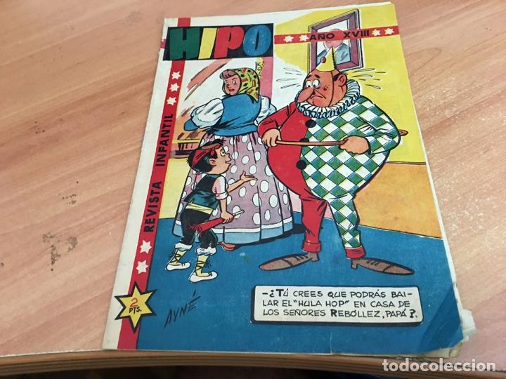 HIPO Nº 24 CO F. IBAÑEZ, AYNÉ, CUBERO, JULIO VIVAS, RIPOLL, BOIX TORA (ORIGINAL MARCO) (COIB25) (Tebeos y Comics - Marco - Hipo (Biblioteca especial))