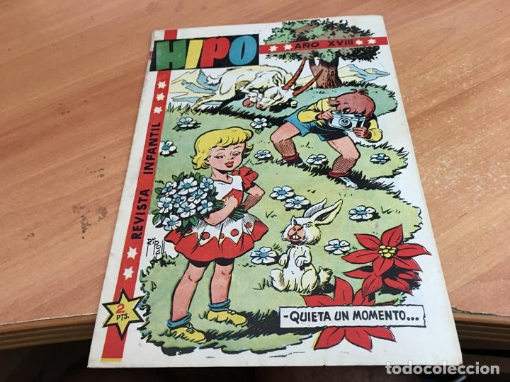 HIPO Nº 27 RIPOLL, AYNE, TORA, TOMAS, CUBERO, MARTINEZ, BONO (ORIGINAL MARCO) (COIB28) (Tebeos y Comics - Marco - Hipo (Biblioteca especial))