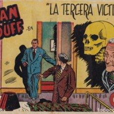 Tebeos: ALAN DUFF Nº 18 LA TERCERA VICTIMA EL DE LA FOTO VER FOTO ADICIONAL CONTRAPORTADA. Lote 174055144