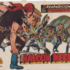 Tebeos: EL HALCON NEGRO Nº 21 REAPARICION DEL MONSTRUO EL DE LA FOTO VER FOTO ADICIONAL CONTRAPORTADA. Lote 174078820