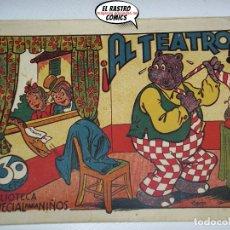 Tebeos: HIPO, MONITO Y FIFI, ¡AL TEATRO!, ED. MARCO, ORIGINAL, 6A. Lote 174424364