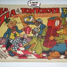Tebeos: LA TÍA DE TONTOLOTE, ACROBÁTICA INFANTIL, ED. MARCO, ORIGINAL, 6A. Lote 174424377
